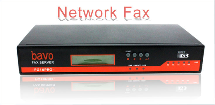 network fax